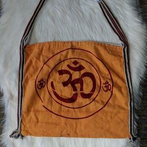 ✨Om Orange Shoulder Bag